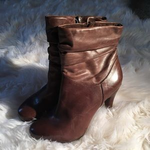 Brown leather Worthinton ankle  boots